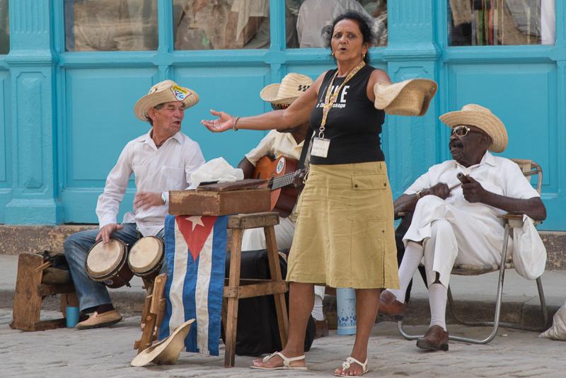 Cuba - La Havane, musiciens