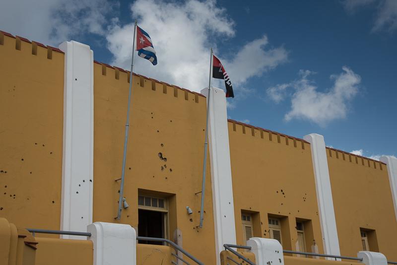 Cuba - Santiago, caserne de Moncada