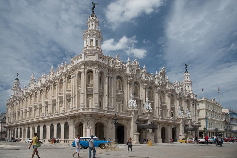 Cuba - la havane - le grand théêtre