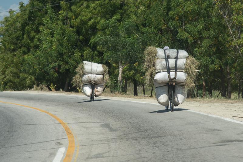 Cuba -transport à vélo