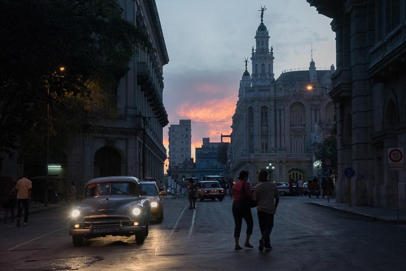 Cuba - La Havane au coucher du soleil