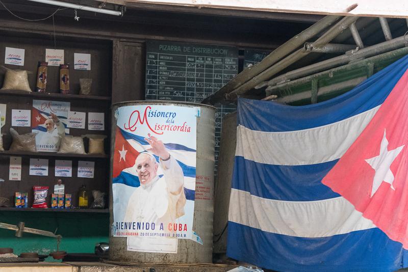 Cuba - la havane, magasin d'état