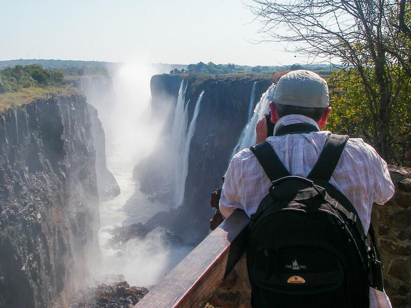 Afrique australe - Zambie, chutes Victoria