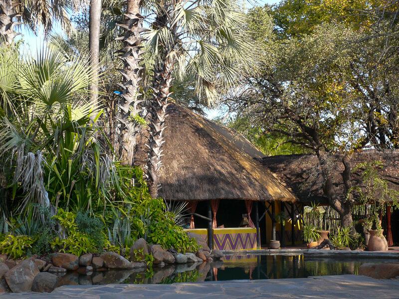 Afrique australe - Zambie, notre hôtel en pleine nature