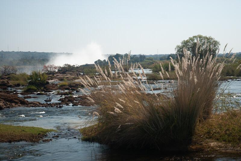 Afrique australe - Zambie, balade en amont des chutes