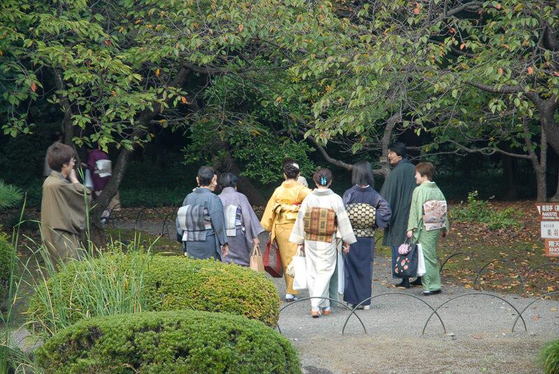 Japon,Tokyo - Centre de Tokyo, jardins du palais impérial