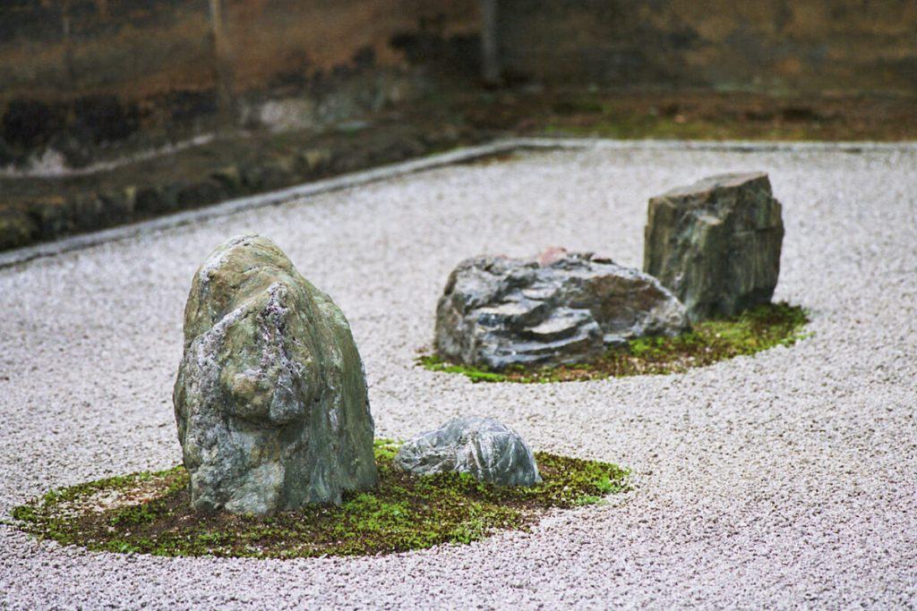 Japon, Kyoto - Ryoan-ji et son célèbre jardin de pierres