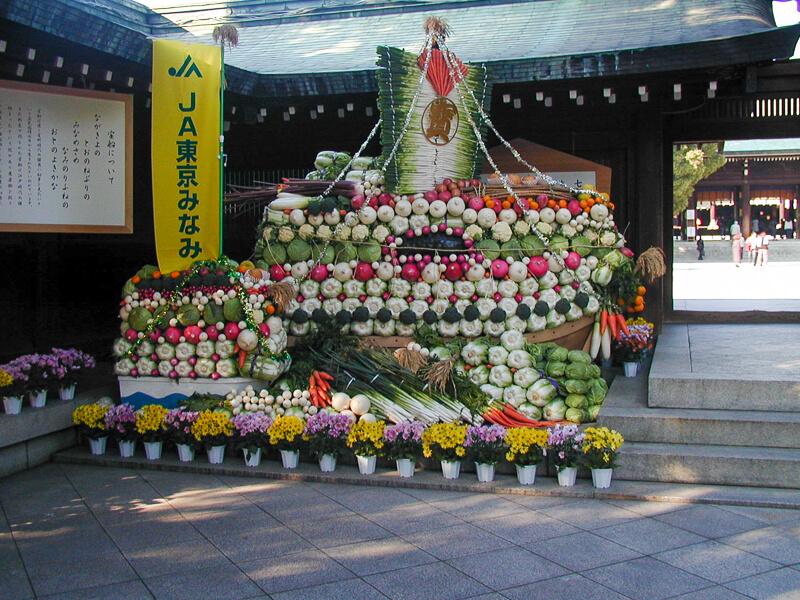 Japon,Tokyo - Automne au temple Meiji-junku