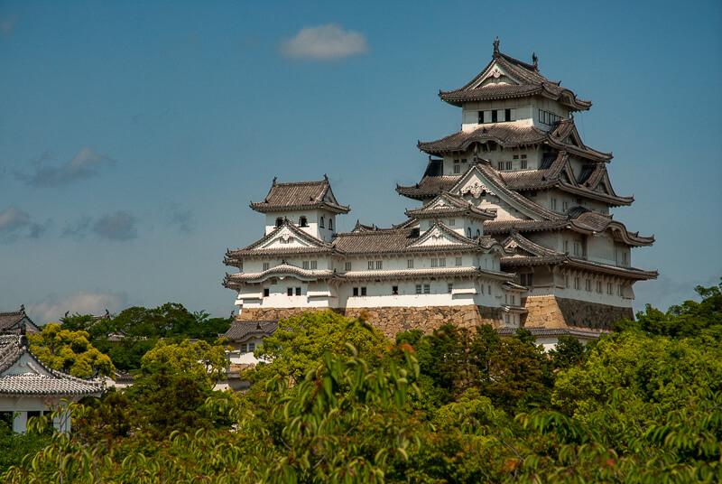 Japon,Himeji - le château du Héron blanc