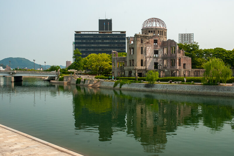 Japon, Hiroshima - esplanade de la paix