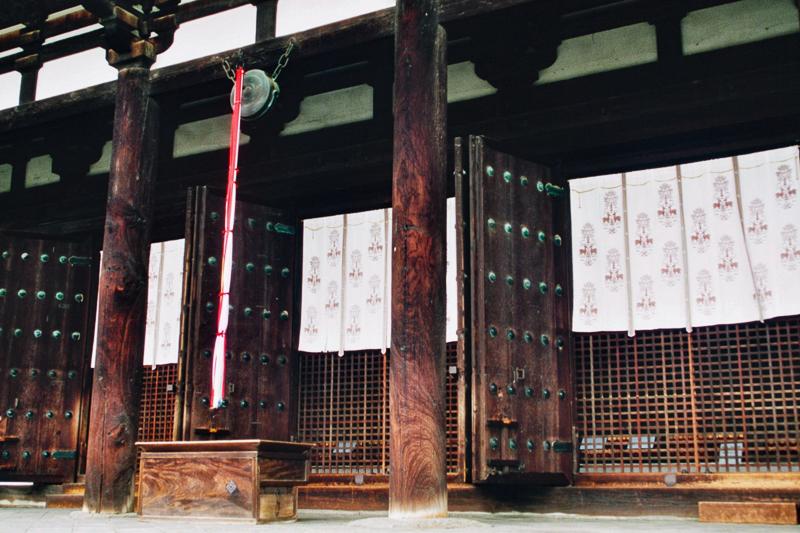 Japon, Nara- la cloche du temple Todaiji