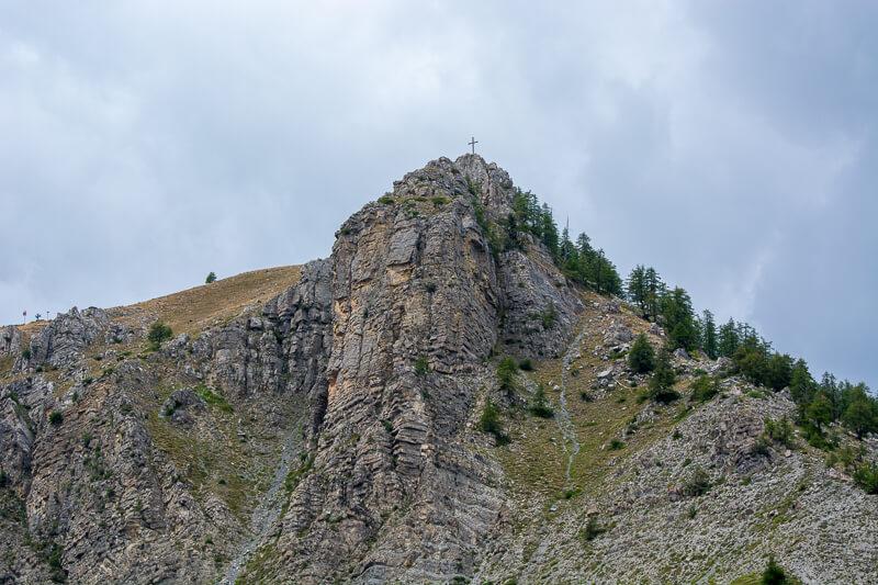 Mercantour, Saint-Etienne de Tinée - cime de la Bercha