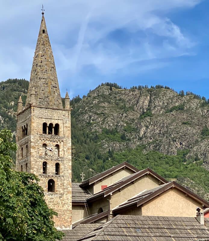 Mercantour, Saint-Etienne de Tinée - clocher