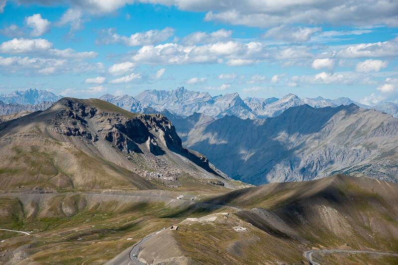 Mercantour, cime de la Bonette - panorama