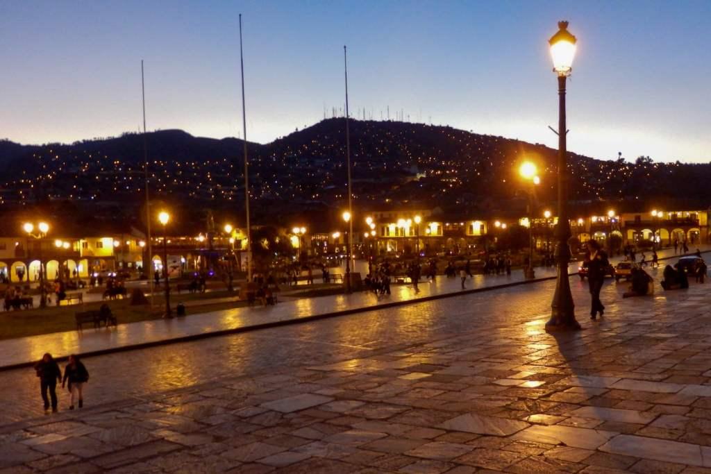 Pérou, Cuzco - Animation la nuit