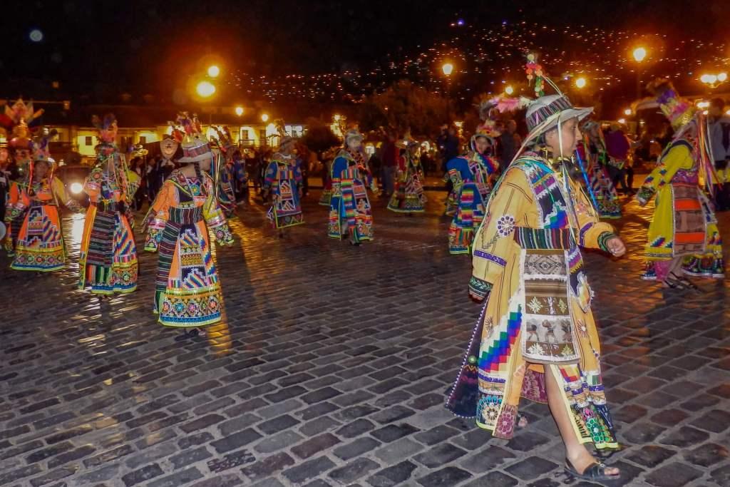 Pérou, Cuzco - fête traditionnelle