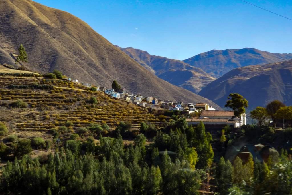 Pérou, de Puno à Cuzco -andahuaylillas chapelle sixtine andine