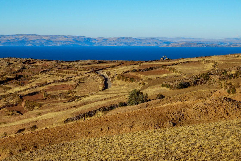 Pérou, lac Titicaca -Ile Amantani