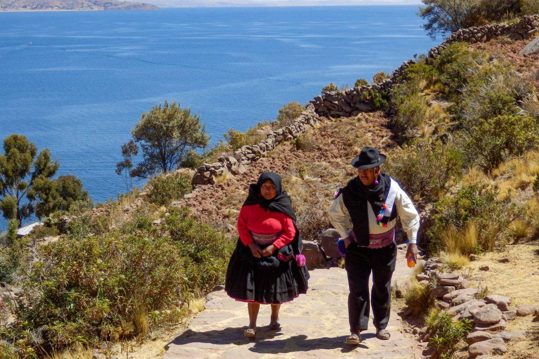Pérou, lac Titicaca -Ile Taquile