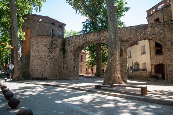 France- Arrière pays de Collioure, Céret - les remparts