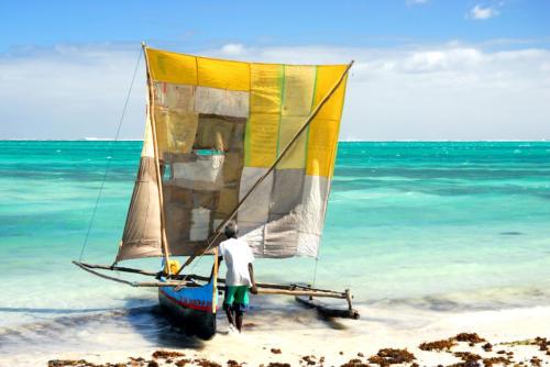 Madagascar - Lagon à Ankasy