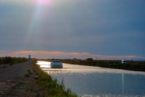 Camargue - Canal et étangs