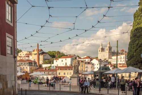 Lisbonne - Alfama, Castelo et Graça