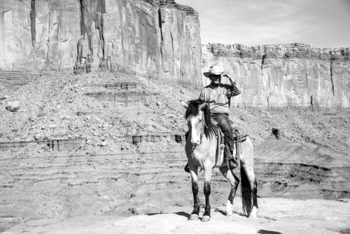 Ouest américain - Nostalgie noir et blanc