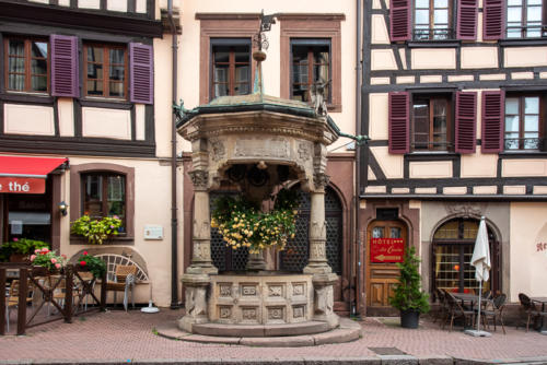 Alsace - Obernai et le mont Saint-Odile