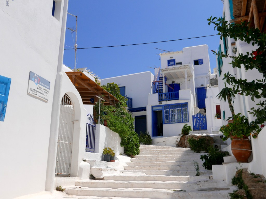 Visiter les Cyclades