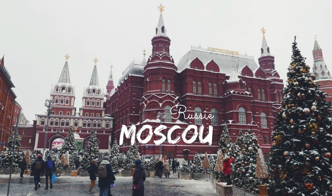 Visiter Moscou en hiver