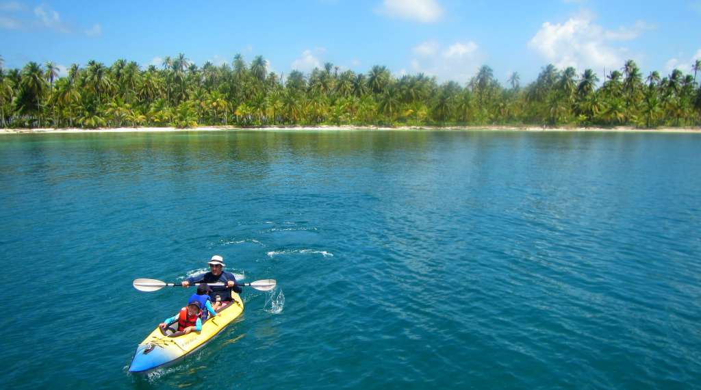 The island of Chicheme, San Blas, Panama