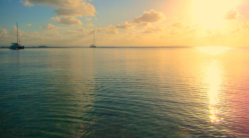 Sunset in San Blas. Finding the best time to visit San Blas, Panama