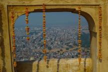 Aussicht vom Nahargarh Fort