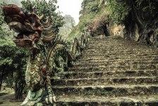 Treppe zum Hang Mua