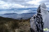Tolle Aussicht auf Quito
