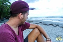 Am Strand von Montezuma