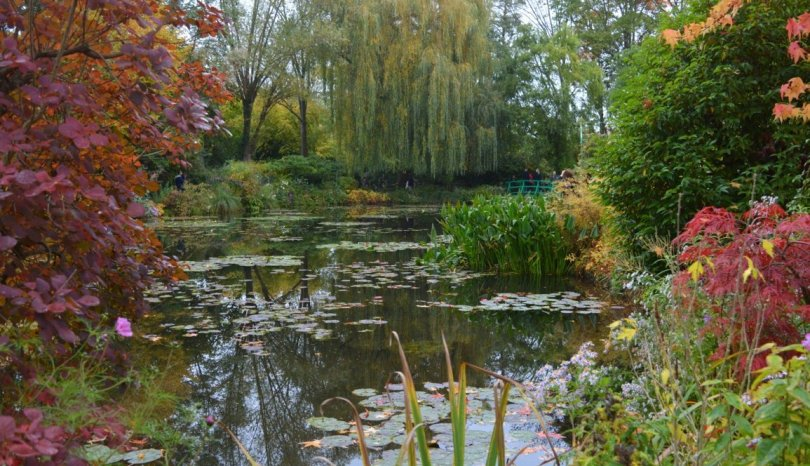 Following Monet's footsteps in Giverny