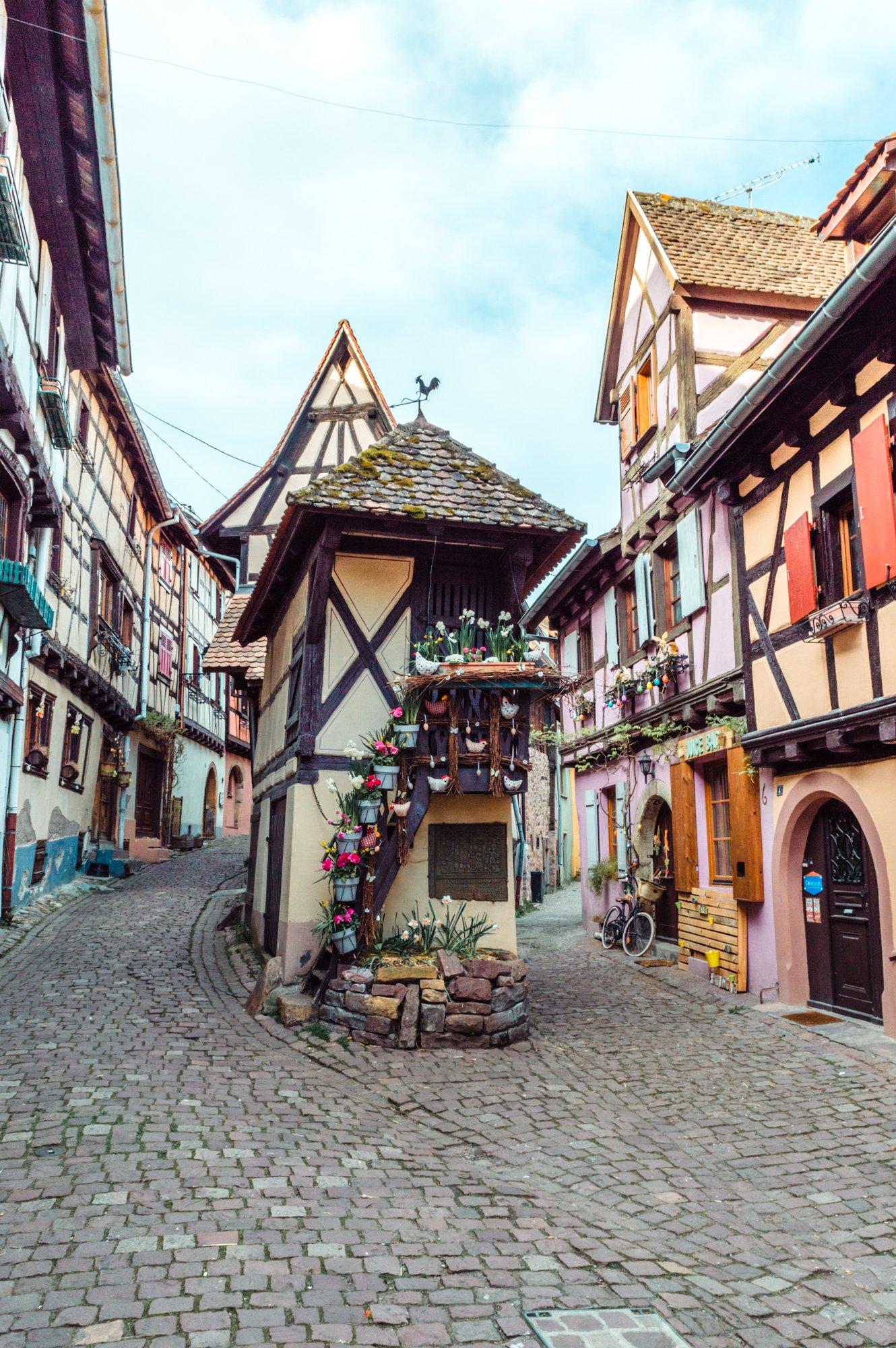 La casa più famosa e fotografata di Eguisheim, Alsazia
