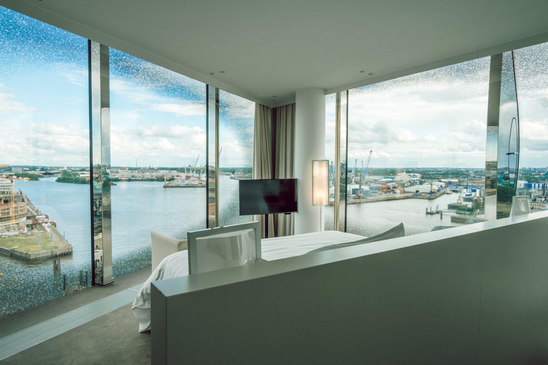 Vista dalla camera The Westin Amburgo
