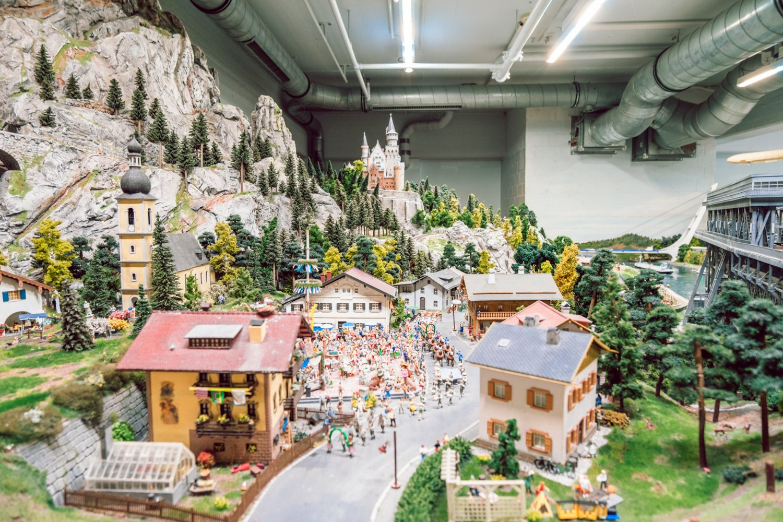 Baviera Miniatur Wunderland Amburgo