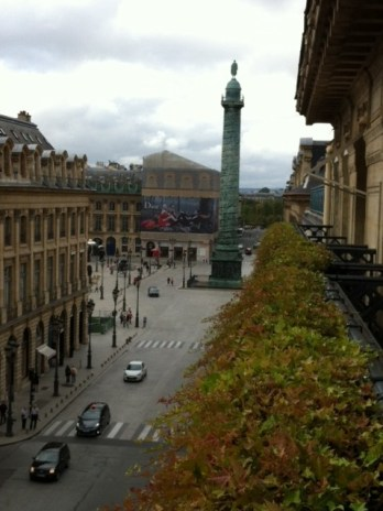 Park Hyatt Paris Vendome Executive Suite View