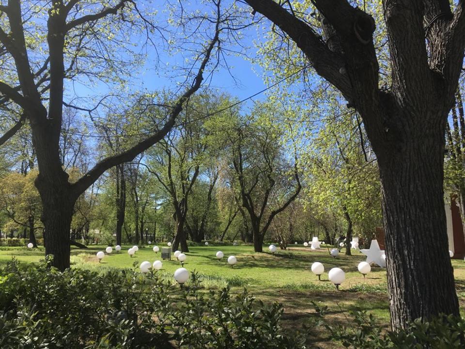 Gorky Park and mysterious orbs
