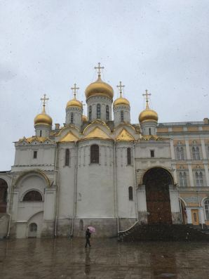 Snow and Churches = Russia