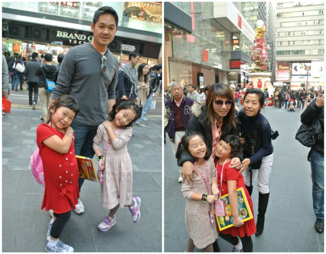Amidst the holiday buzz in Tsim Sha Tsui