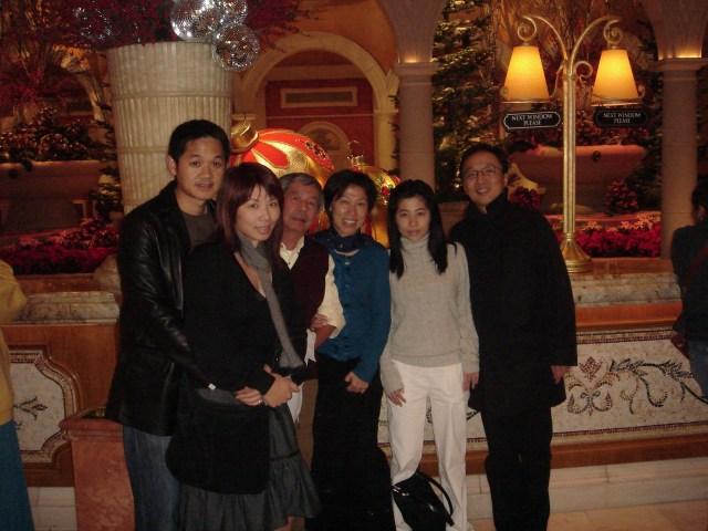 Family trip to Las Vegas