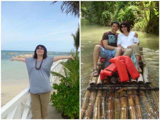 2006: Work trip + Babymoon to Jamaica