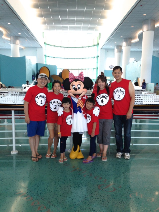 2014: Bahamas Disney Cruise with Mimi's family