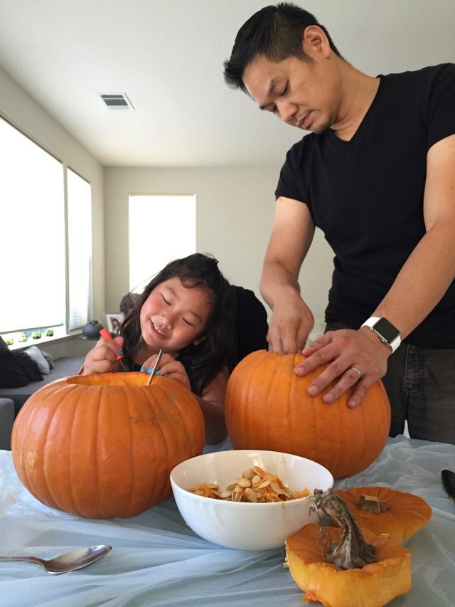 Pumpkin carving time!