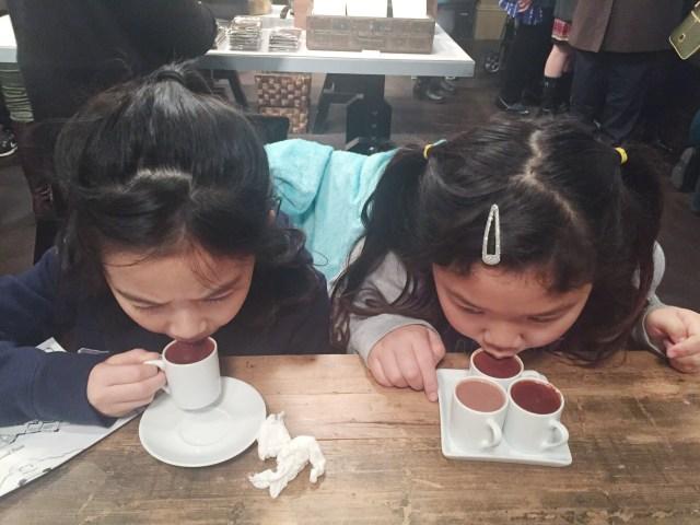 Decadent hot chocolate shots